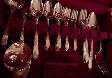 Devonshire Mary Lou Wm Rogers IS Silverplate grille set for 8+ soup 6 serv pc
