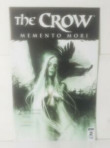 The Crow Momento Mori 2 (2018 IDW)[2ND APPEARANCE OF DAVID (THE NEW CROW)] NM+!