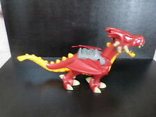 Duplo Lego red & orange dragon only from set 4776 tower - mouth & wings move