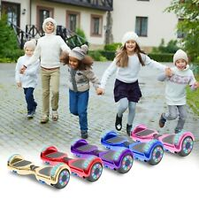 NHT 6.5 INCHES LED Two Wheels Electric Hoverboard LED Self Balancing New Design