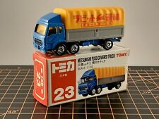 Tomy Tomica Pocket Car Made in Japan 23 Mitsubishi Fuso Covered Truck