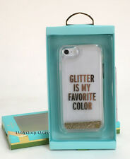 "Kate Spade Liquid Glitter Case iPhone 7 iPhone 8 ""Glitter Is My Favorite Color"""