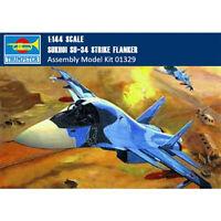 Trumpeter 01329 1/144 SUKHOI SU-34 Strike Flanker Fighter-Bomber Assembly Model