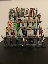 Eaglemoss DC superhero Collection Lot Of 33 Metal Figures. Books Included