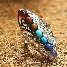 Turkish Handmade Fashion Women Jewelry Turquoise Wedding Engagement Ring Sz 6-10