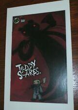 Teddy Scares #0 Sdcc 2006 Ashcan Mini Comic Promo Applehead Factory Ape