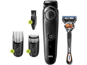 Barbero - Braun, BT5242 Recortadora Barba Y Cortapelos, 39 Ajustes Longitud