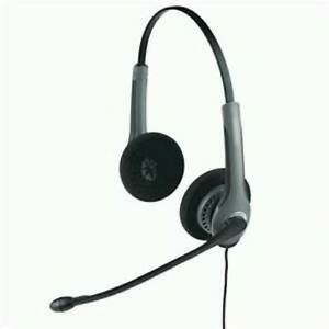 New Jabra GN2000 Duo NC Headset with GN1200 Smart Cord - P/N 20059-04