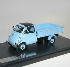 MATRIX SCALE MODELS, 1957 ISO ISETTA Autocarro PICK-UP, Pick-Up, bleu, 1/43