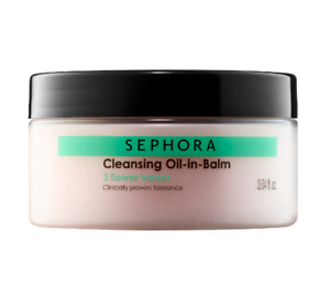 Sephora Collection Cleansing Oil-in-Balm NEW Sealed Fresh Full Size 3.04 oz