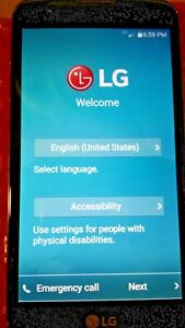 USED BEAUTIFUL LG L52VL TRACFONE, SINGLE SIM, SMARTPHONE. ANDROID! FACTORY RESET