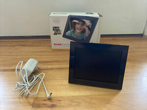 """Kodak EasyShare 7"""" Digital Photo Picture Frame P725 Preowned Used Works Great!"""