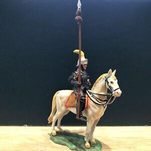 Elastolin: Mounted Knight, c1500. 70mm Plastic Figure. Post War