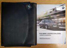 GENUINE BMW 3 SERIES SALOON F30 HANDBOOK OWNERS MANUAL 2012-2017 # C-616