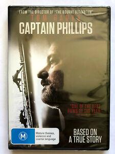 CAPTAIN PHILLIPS. TOM HANKS. SEALED  DVD