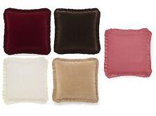 Patternless Velvet Contemporary Decorative Cushions