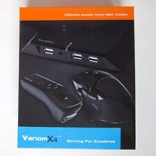 Tuact Venom x4 del controller del mouse TASTIERA ADATTATORE per XBOX ONE XBOX 360 PS3 PS4