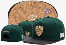 Men Women CAYLER SONS Snapback Adjustable Baseball Caps Hip hop street Hat Black