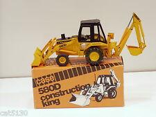 Case 580D Backhoe - o/c - 1/35 - Conrad #2931 - Used w/ Box