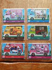 Lot de 6 cartes Animal Crossing Sanrio neuves