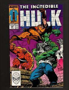 The Incredible Hulk #359 Hulk Vs Wolverine Vs Thing Vs Abomination [1989]-(NM-)