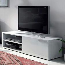 Mueble Bajo TV / Comedor Moderno / Salon Moderno / Modulo Bajo Comedor / Blanco