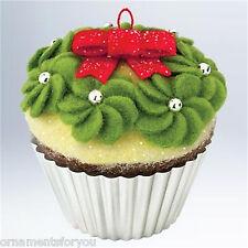 Hallmark 2011 Simply Irresistible Christmas Cupcake Series Ornament #2