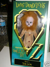Living Dead Dolls Lost in Oz { the lion } 2015 collector Doll