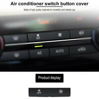 Car Heater Climate Control A/C Switch Fan Button Cap Cover for BMW F10 F18 SN9F