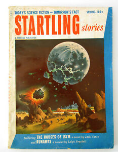 Startling Stories - Spring 1954 - very good cond - Classic Cover!
