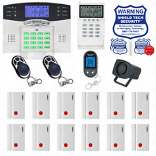 DIY Wireless Home Security System LCD Burglar House Alarm Smart Voice Prompt GC