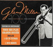 CD COMPIL 20 TITRES + DVD BONUS--GLENN MILLER--THE CENTENNIAL COLLECTION