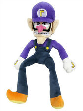 "New Little Buddy Super Mario 1422 All Star Collection - Waluigi 12.5"" Plush Doll"