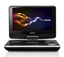 Lenco DVP-9411 Tragbarer DVD-Player 22,9 cm (9 Zoll) 360 Grad drehbar schwarz
