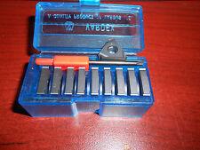 Vargus 3el 24un Vtx #50802 Carbide Threading Inserts, Qty. 10