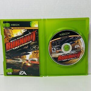 Burnout Revenge Original Microsoft Xbox Console Game Complete CIB Fast Ship