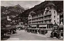 15383/ Foto Ak, Flüelen am Vierwaldstättersee, Hotel Urnerhof, 1939