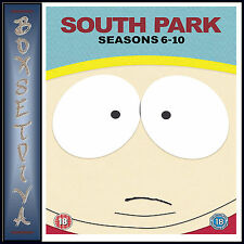 SOUTH PARK - COMPLETE SEASONS 6 7 8 9 & 10  *BRAND NEW DVD BOXSET *