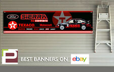 Ford Sierra RS Cosworth Car Logos Banner for Workshop / Garage, 1300mm x 320mm