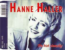 Hanne Haller Maxi CD Du Bist Einmalig - Germany (M/EX+)