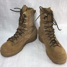 Used Belleville 790G Desert Tan Army Military Goretex Mens Combat Boots sz 9.5 W