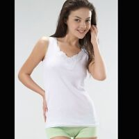 Remixx Veste de Dames Top Shirt à Bretelles Dentelle sous-Vêtements Débardeur