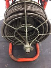 """Used Sewer Snake Easy Rooter General Wire 1/2"""" Commercial Drain Cleaner"""