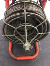 "Used Sewer Snake Easy Rooter General Wire 1/2"" Plumbing Commercial Drain Cleaner"