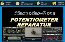 Mercedes Becker Traffic Potentiometer Poti Reparatur BE4720 BE7820 BE7824 BE4740