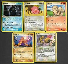 Pokemon Set of Rare Cards (14) Ex Fire Red Leaf Green