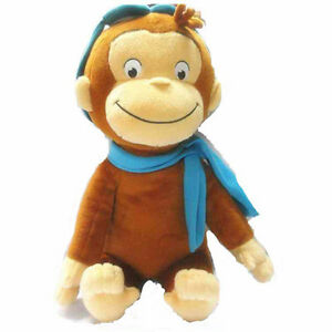 """11.8""""/30 cm CURIOUS GEORGE PLUSH Cute DOLL MONKEY PLUSH TOY Kids Best Gift New"""
