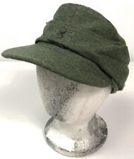 WWII GERMAN M43 COMBAT WOOL FIELD CAP-LARGE