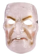 Transparent Old Lady Mask, Halloween, Fancy Dress