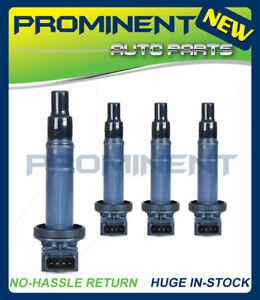 4 Ignition Coil UF316 Replace for 2000-2008 Toyota Scion & Various Vehicles 1.5L
